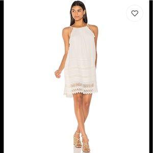NWOT Alice + Olivia White Sleeveless Cotton Dress